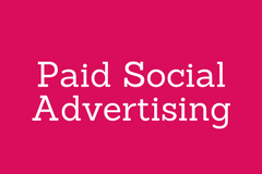 Paid Social Advertising